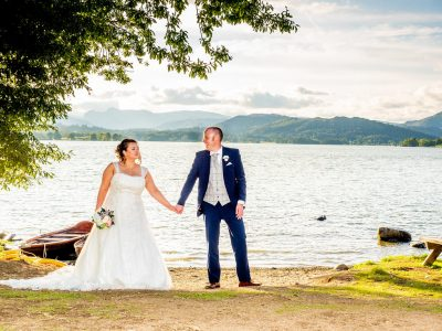 Stephanie & Mike, Merewood Country House, Lake District