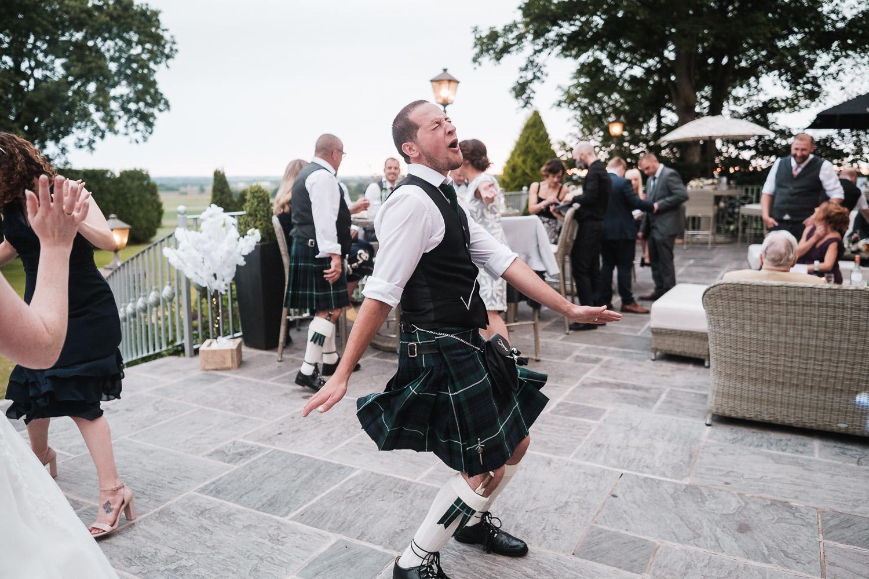 groom parties at west tower venue