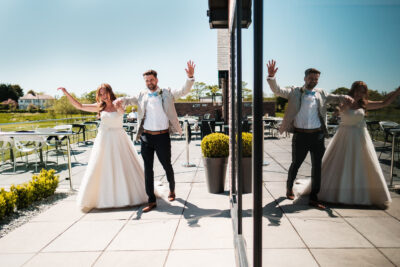 Glass House Staining Wedding Photographer – Danielle & Luigi