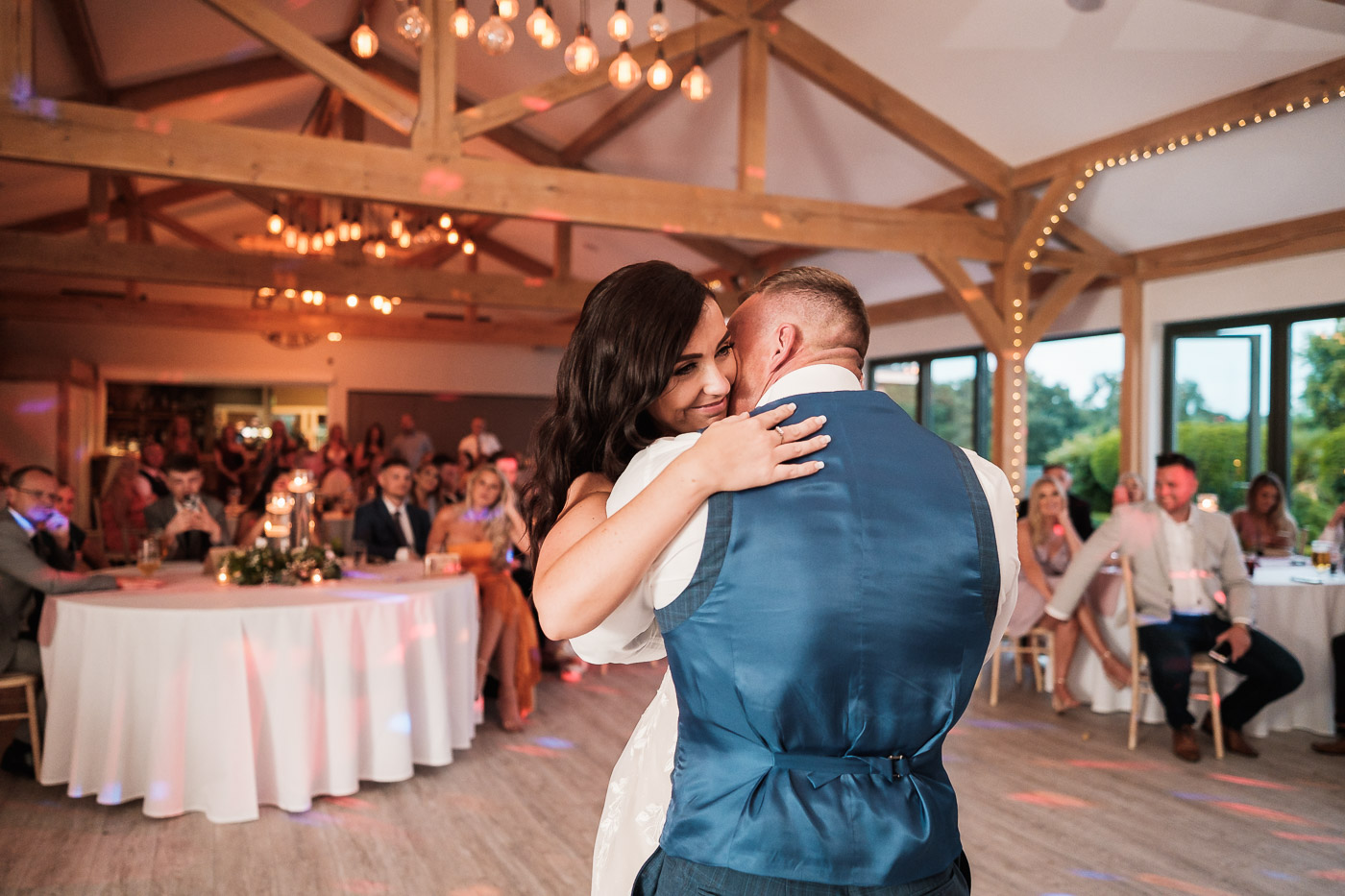 first dance at the pryors Hayes wedding reception